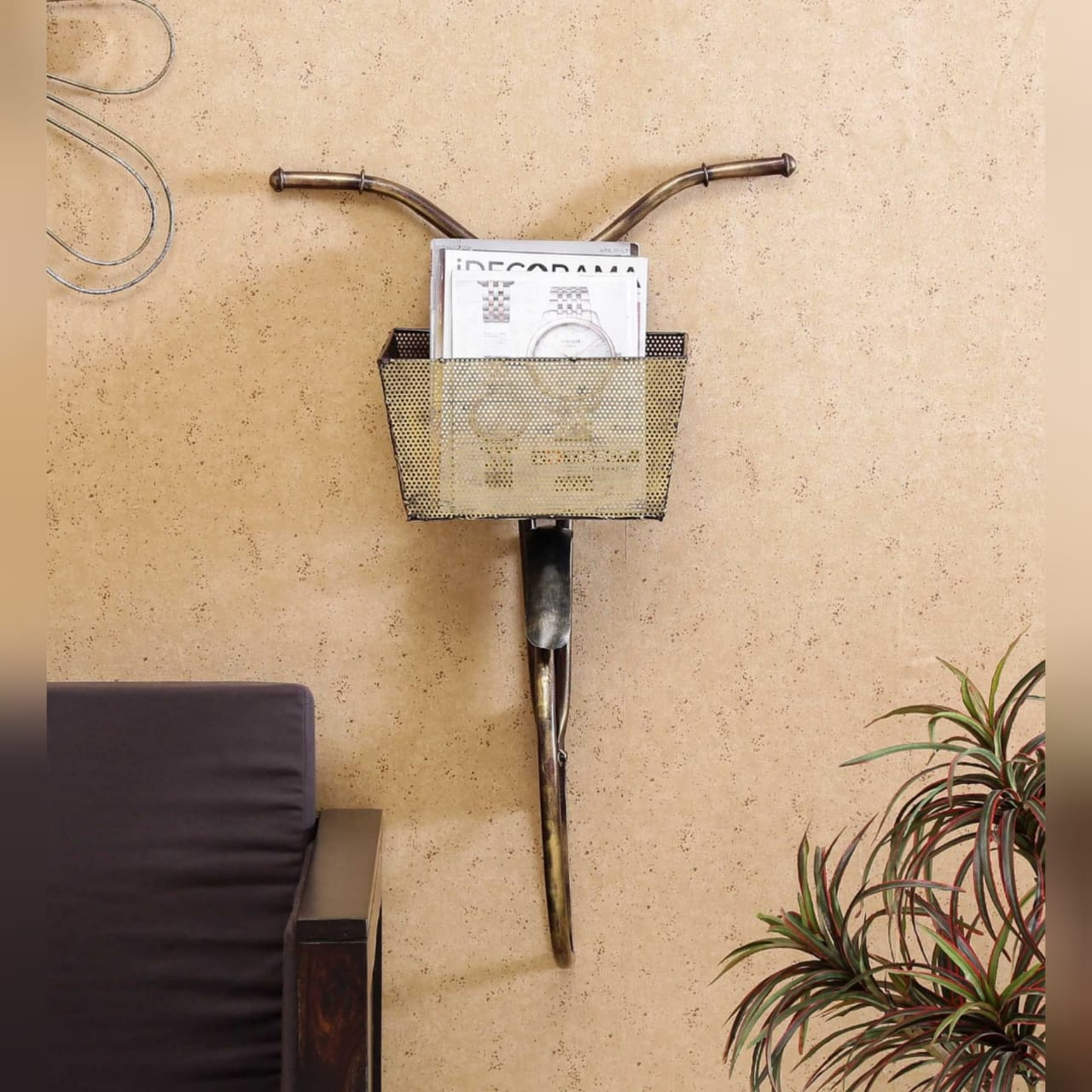 Bicycle Front Home Decoration Artifact